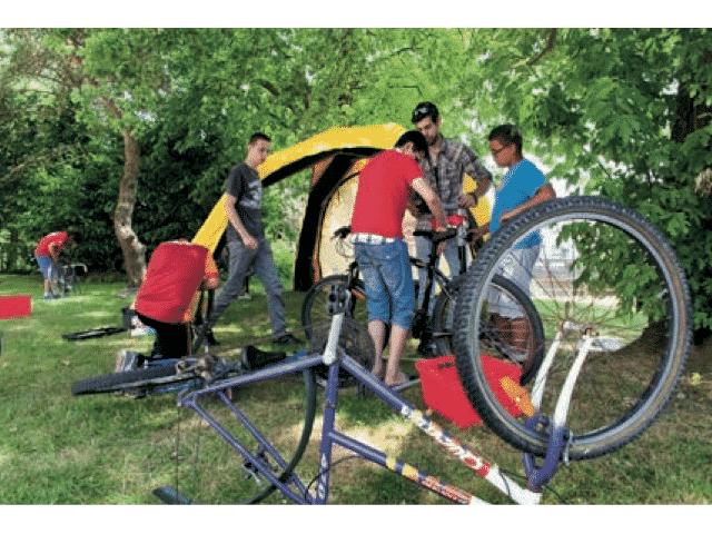 Atelier vélo Penhars 2016