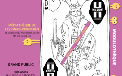 Animations modulothèque Être Humain, Vivre Ensemble à Lézignan-corbières