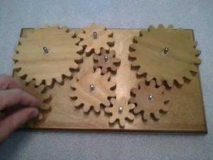 Engrenages bois