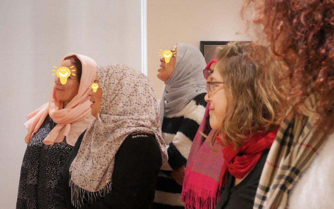 Les ateliers socio-linguistiques s'invitent au musée de Perpignan !