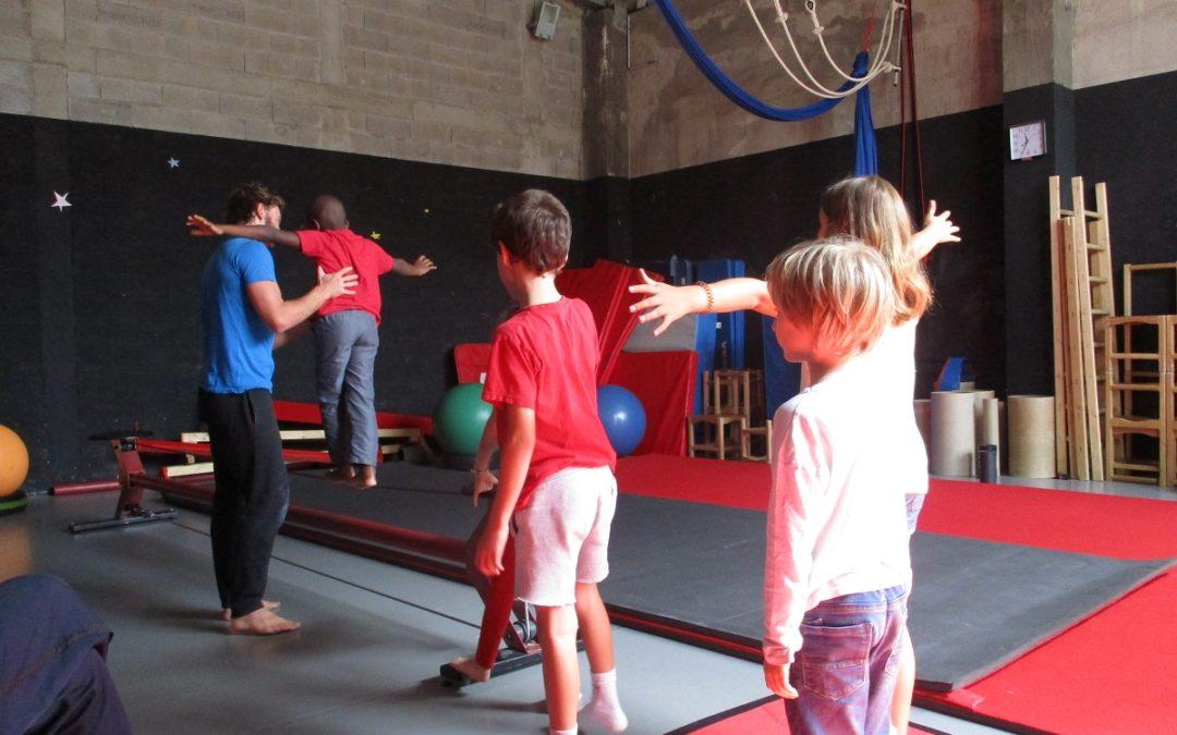 Mini-stage Cirque et sciences à Toulouse !
