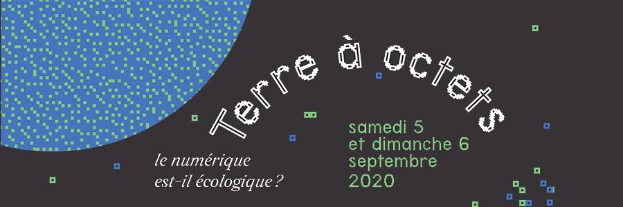 """Festival """"Aux Sciences Citoyen.ne.s !"""" : Terre à Octets"""