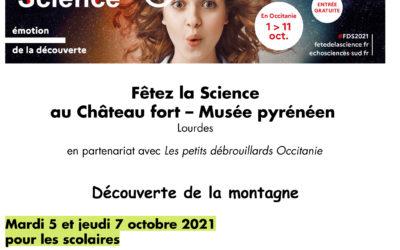 Préparatifs pour la Fête de la Science au Château de Lourdes