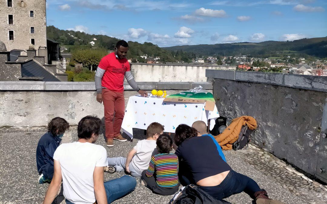 retour en image sur la fête de la Science au Château Fort de Lourdes
