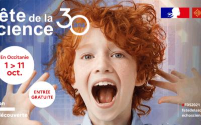 Venez fêter la science avec nous, un peu partout en Occitanie !
