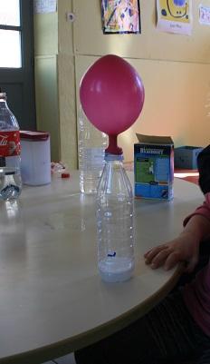 expérience de la montgolfière