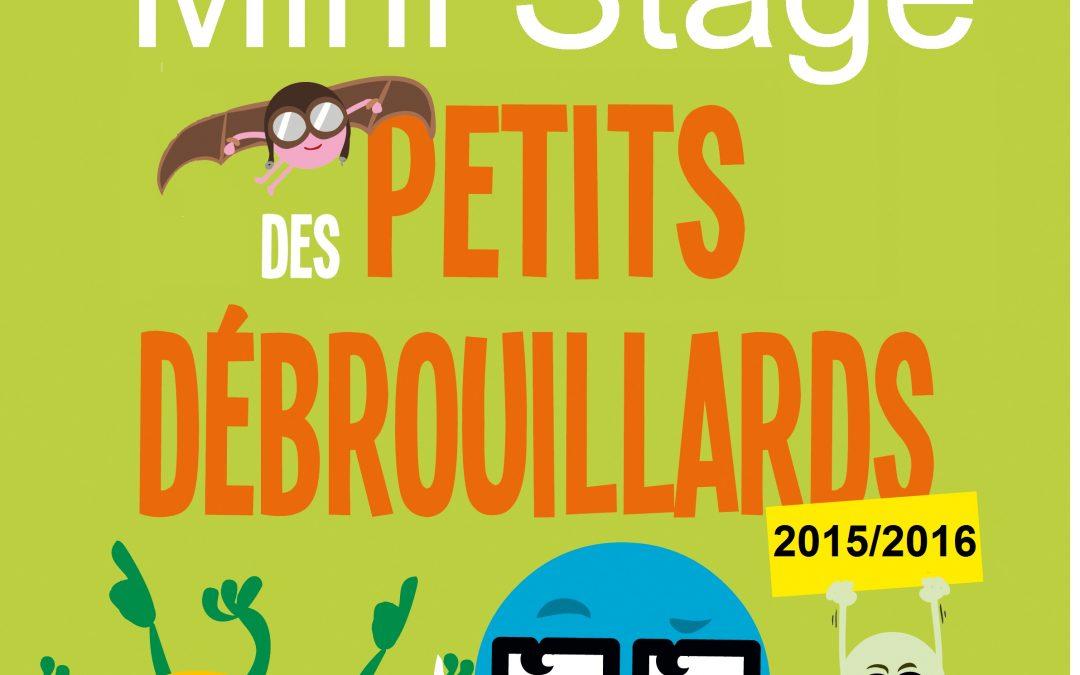 Programme mini-stage 2015/2016