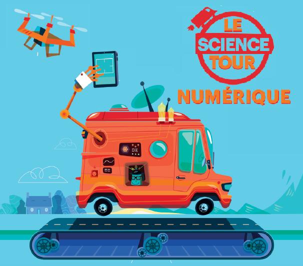 Le Science Tour du Numérique bientôt à Sète et Agde