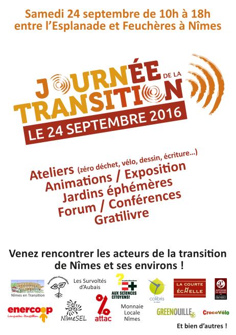 Journée de la Transition à Nîmes!