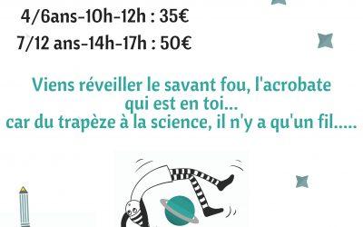 Stage cirque et sciences
