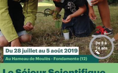 """Le séjour """"Nature et Débrouillardises"""" des Petits Débrouillards – été 2019"""