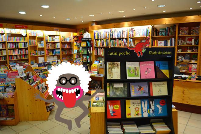 Des ateliers Petits Débrouillards à la librairie Cajelice