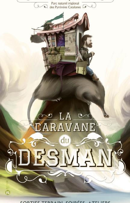 La Caravane du Desman débarque en juin dans les Pyrénées catalanes