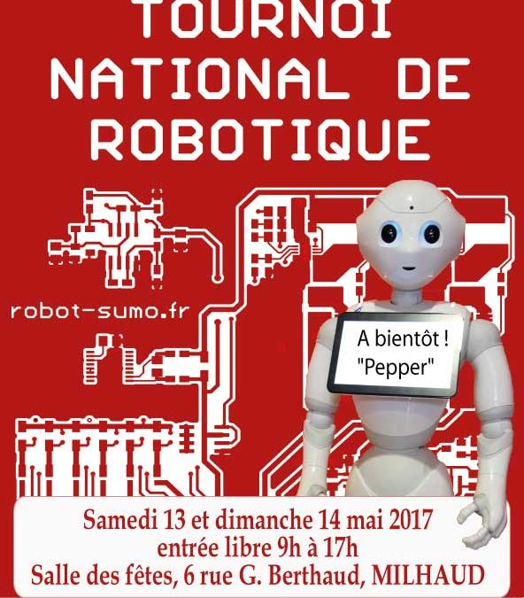 Tournoi National de Robotique Sumo