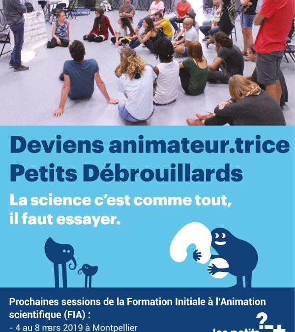 Prochaines Formations Initiale d'Animateur.trice en 2019 en Occitanie !