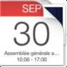 #SaveTheDate. Assemblée générale le 30 septembre 2017