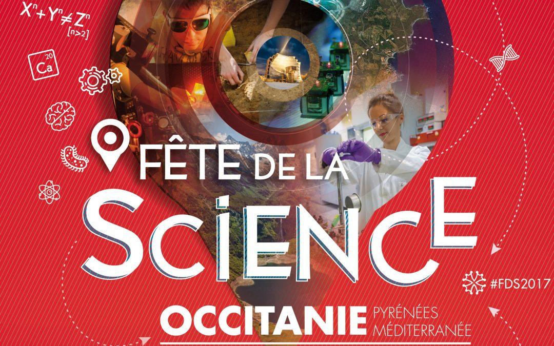 Fête de la science : c'est parti !