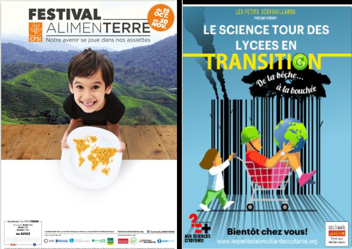 Quand le Festival Alimenterre embarque sur le Science Tour des Lycées en Transitions!