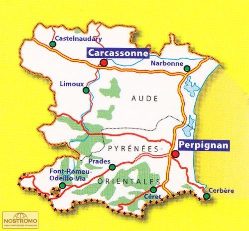 Mutualisation des antennes Aude et Pyrénées-Orientales