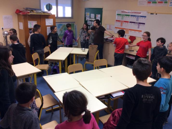 Ecole de l'énergie à l'école André Malraux du Beausset