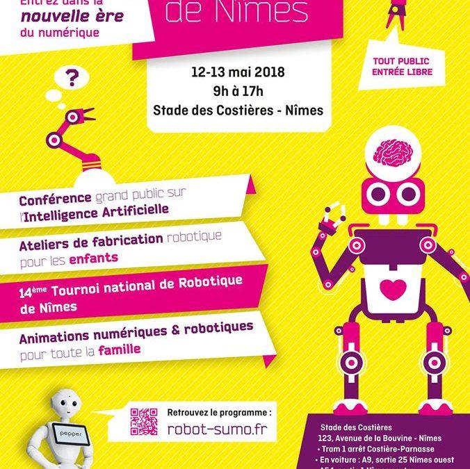 Le Tournoi National de Robotique, c'est demain !