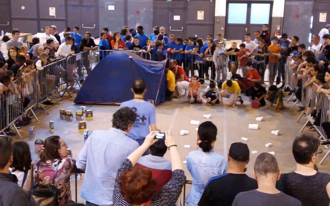 Retour sur le Tournoi National de robotique