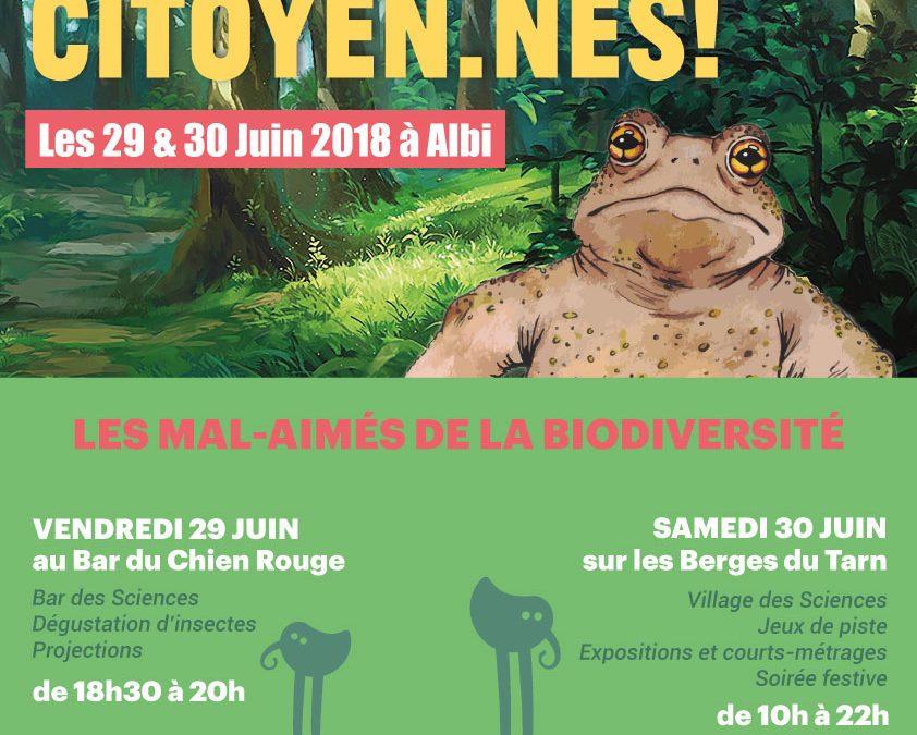 Festival Aux Sciences Citoyen.nes ! à Albi