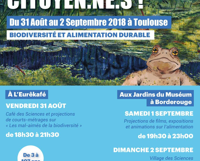Aux Sciences Citoyen.ne.s ! à Toulouse